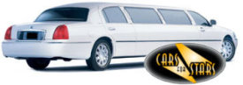 Limo Hire Warrington - Cars for Stars (Warrington) offering white, silver, black and vanilla white limos for hire