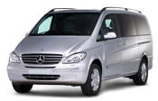 Chauffeur driven Mercedes Viano people carrier - Up to 7 passengers in comfort, from Cars for Stars (Warrington) - Airport Transfer Services
